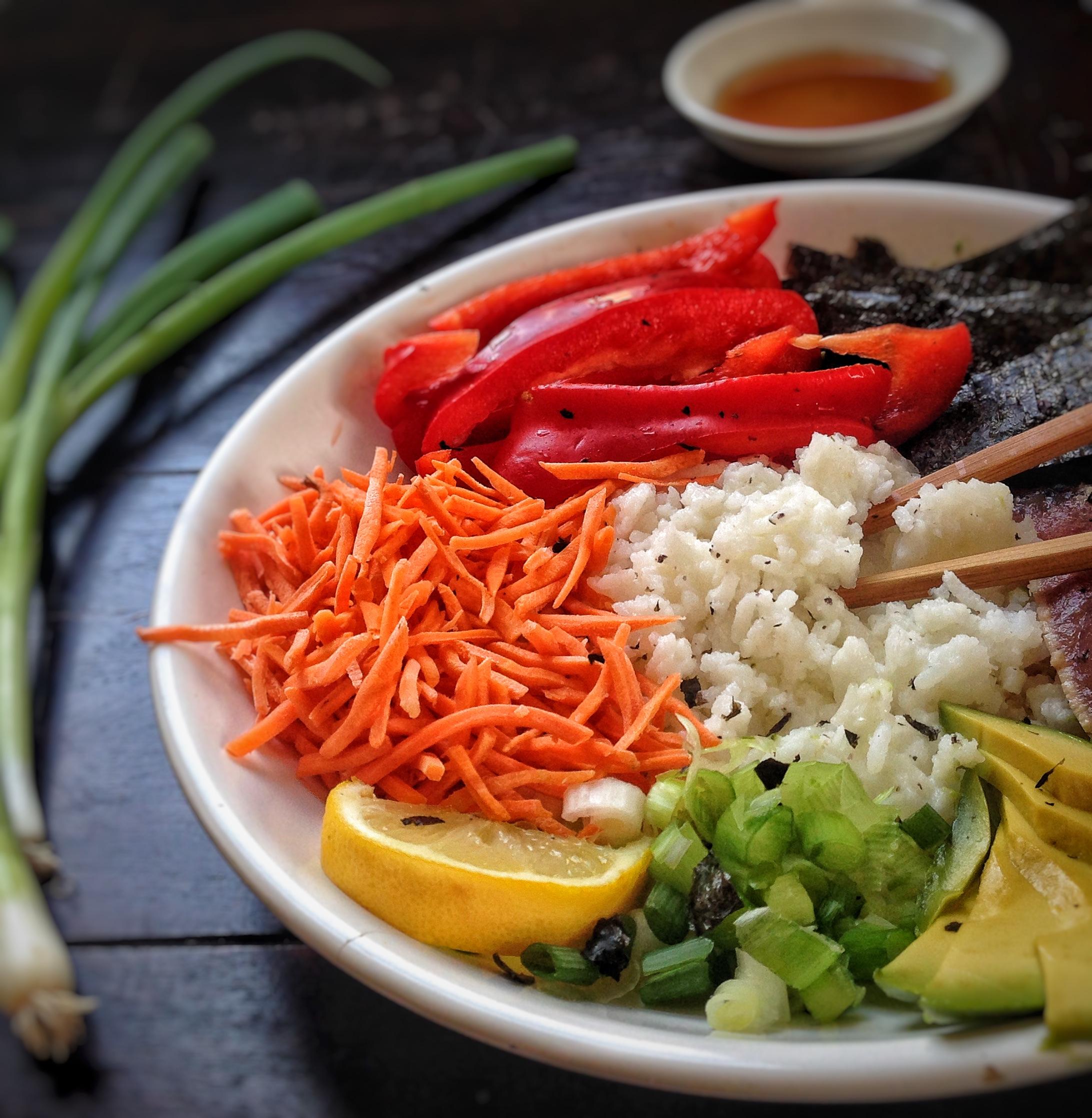 Homemade Sushi Bowls