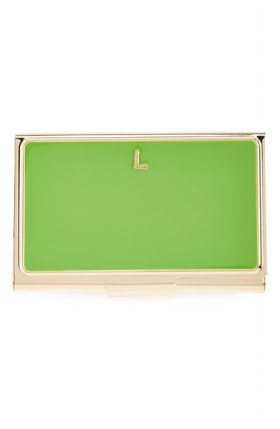 Greenery Card Holder Kate Spade