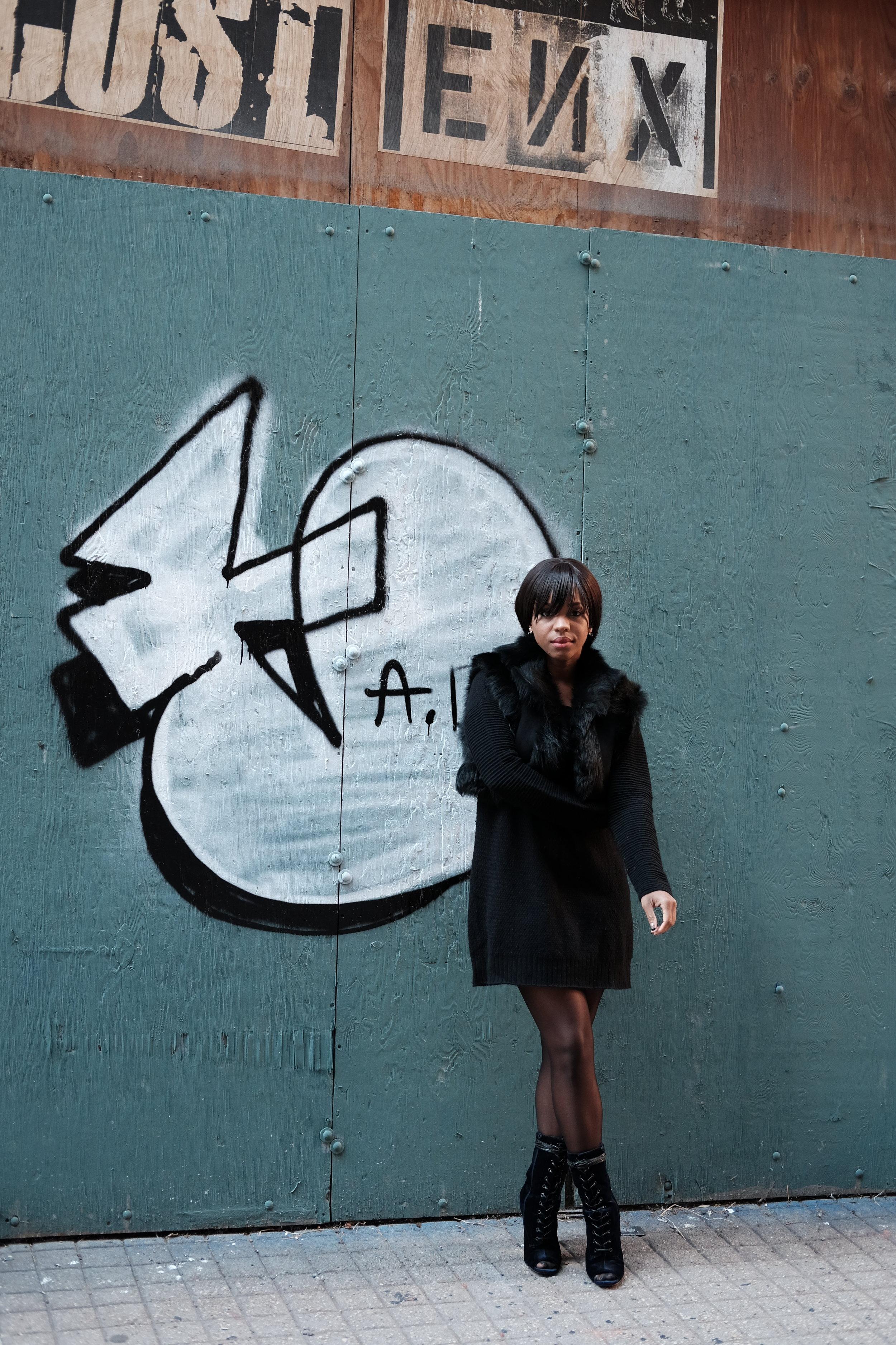 All Black Winter Fashion 1