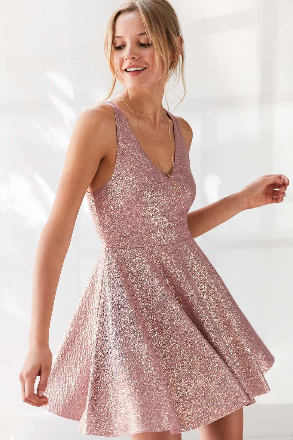 Silence and Noise Sinderella Sparkle Dress $69