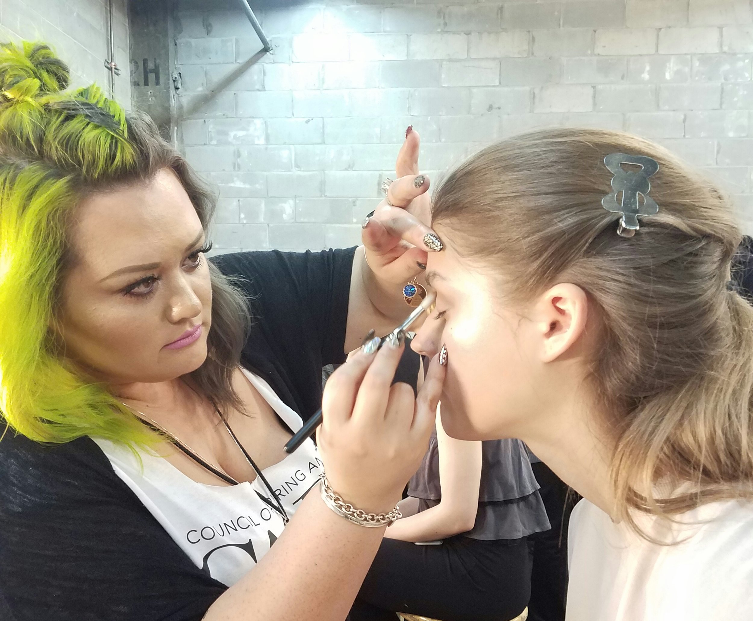 Backstage Beauty Makeup Application