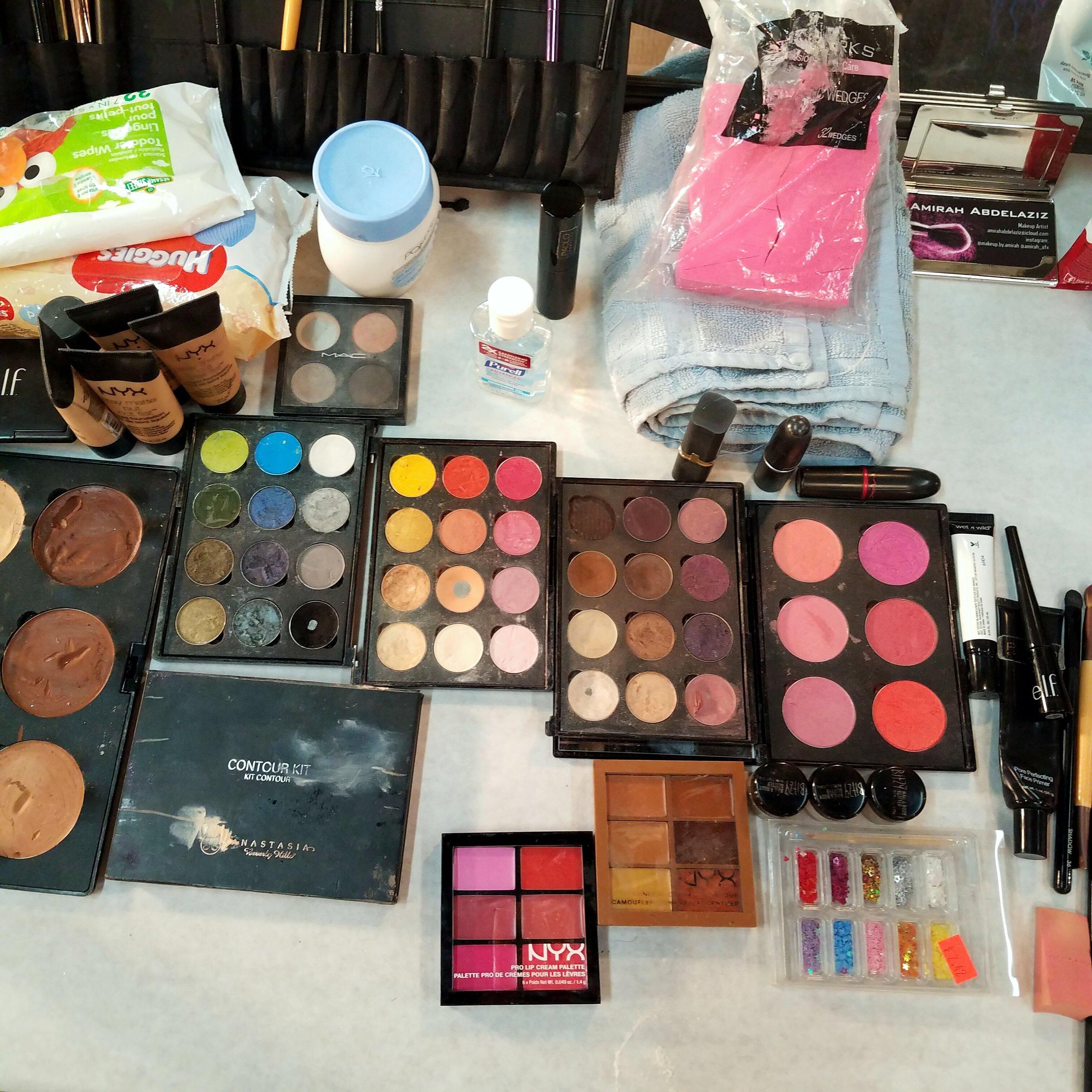 Makeup Backstage