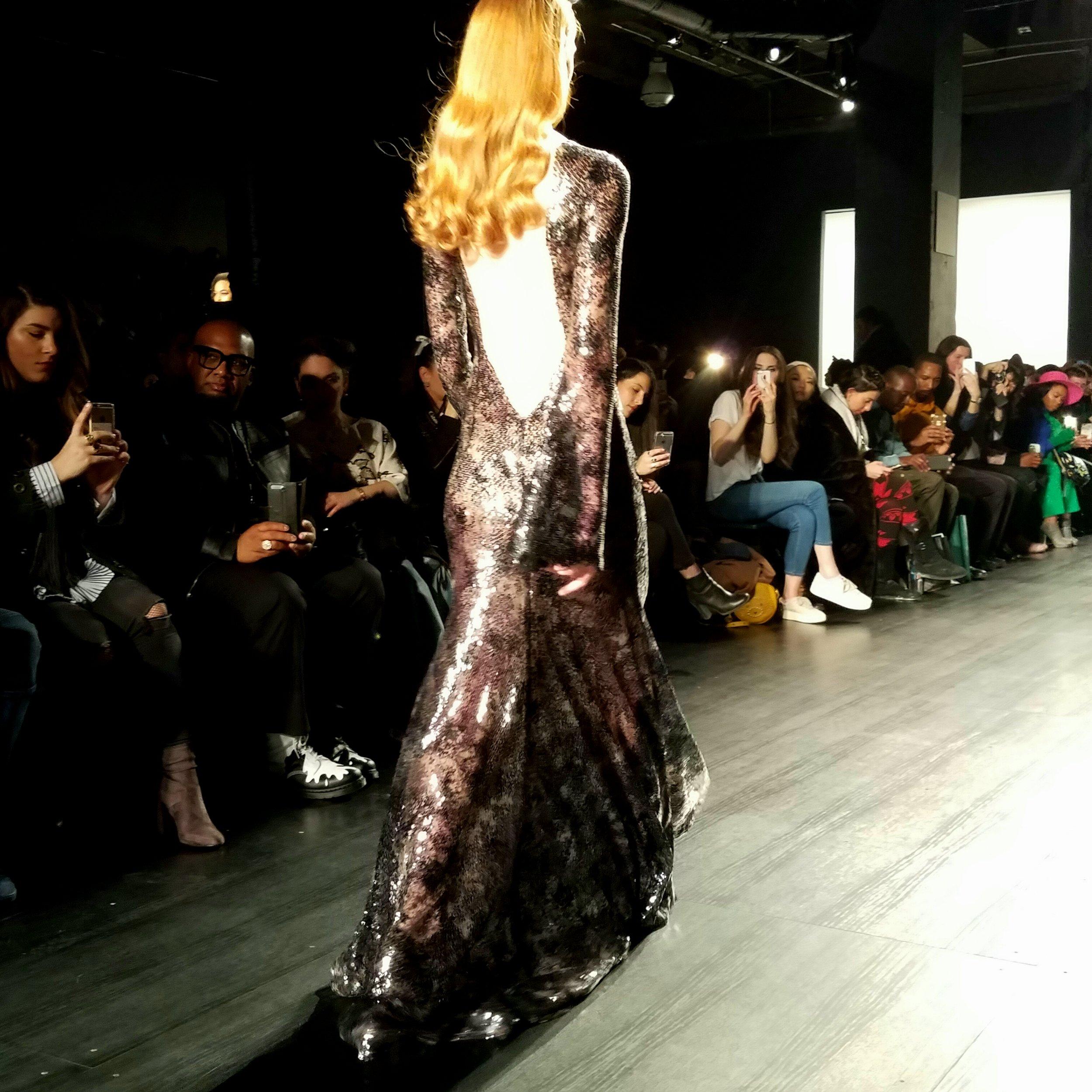 Irina Vitjaz NYFW Look