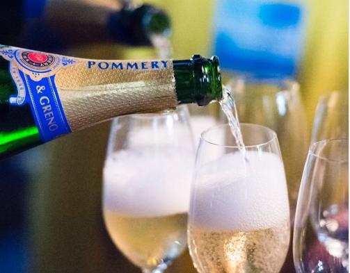 Image via  Pommery Champagne