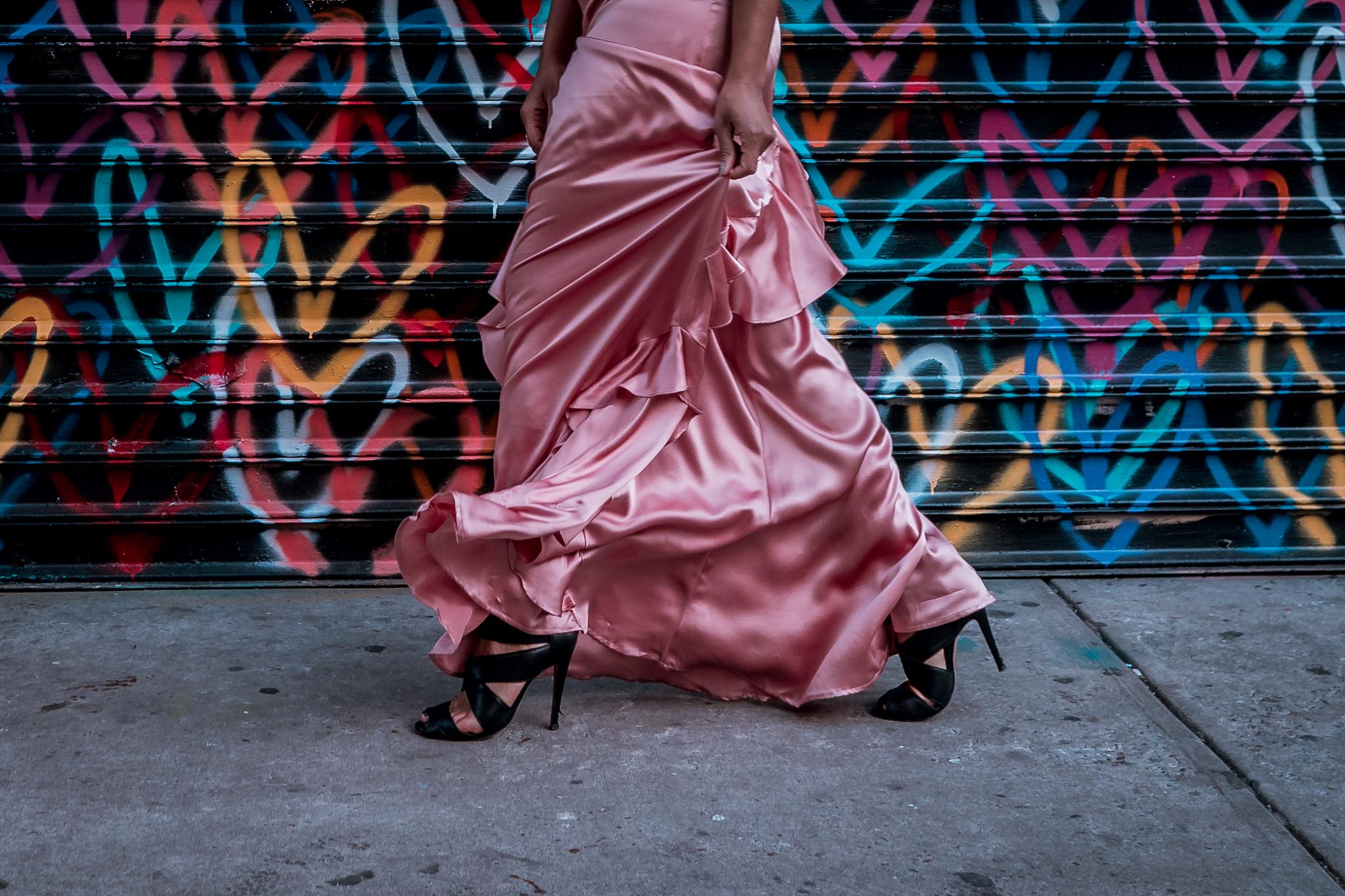 Blush-Pink-Satin-Dress