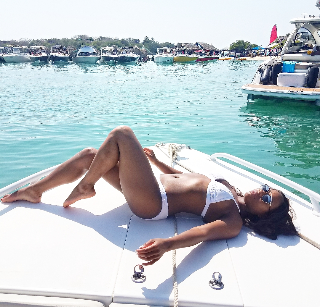 Cartagena Private Boat White Party