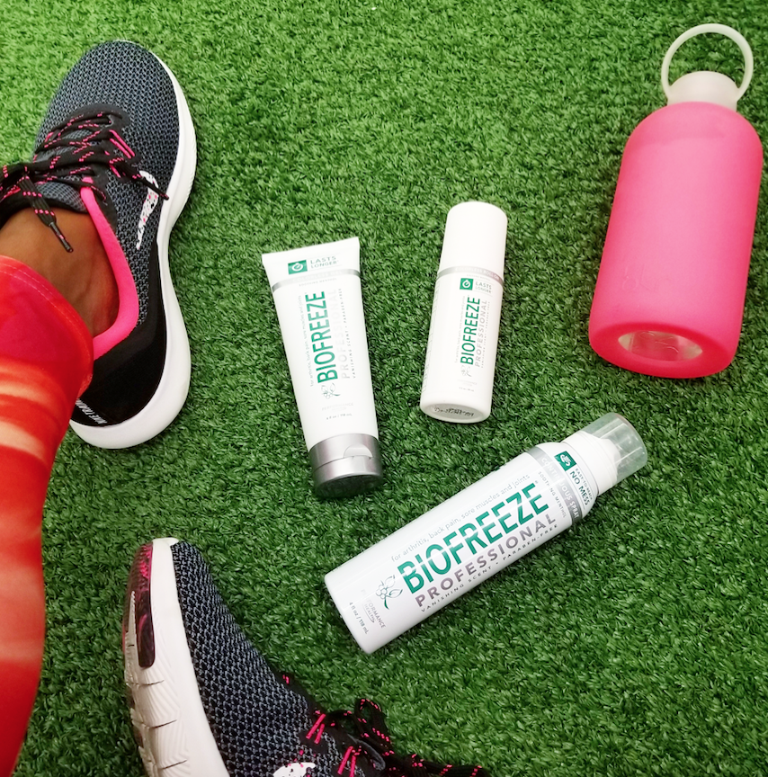 Biofreeze-Gym-Bag-Flat-Lay