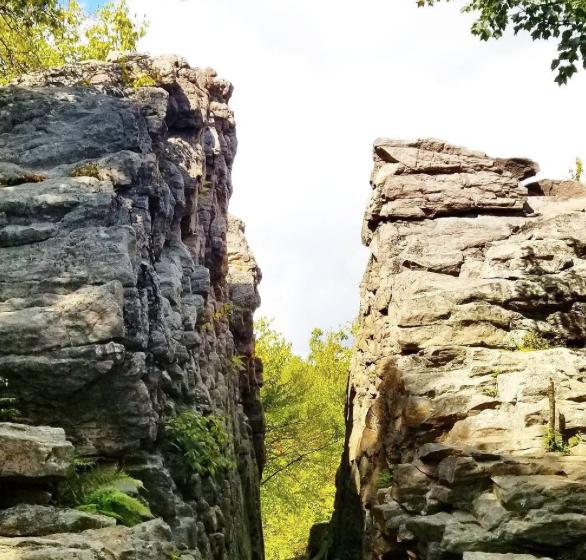Split Rock Poconos Hiking
