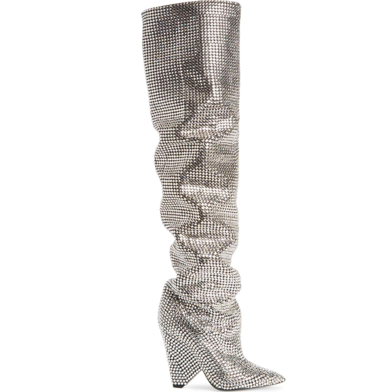 Saint Laurent Niki Crystal Embellished Boot.jpg