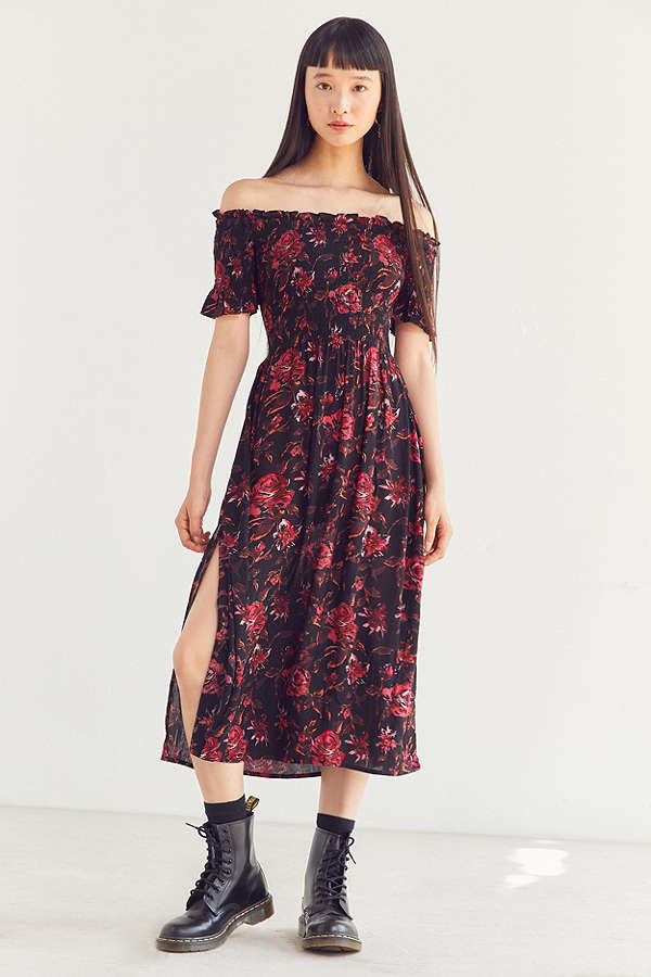 Urban Outfitters Floral Smocked Maxi Dress.jpg