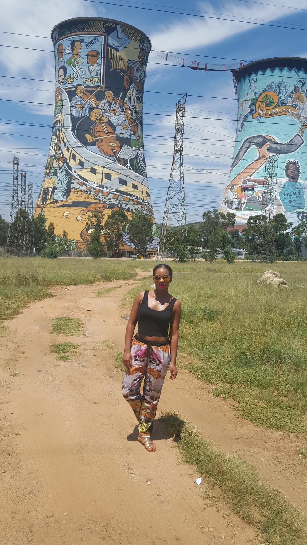 In Soweto, Johannesburg
