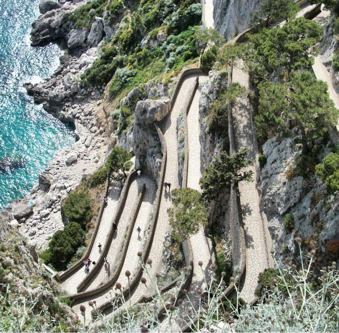 Stunning views in Capri, Italy