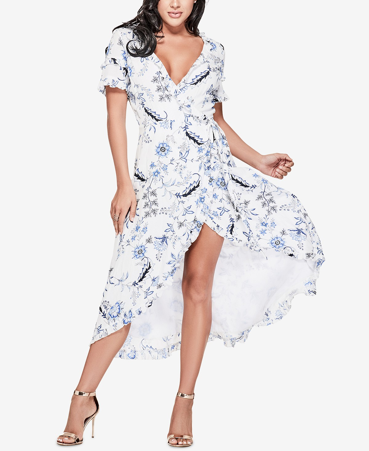 Guess Ruffle Floral Maxi Dress.jpg