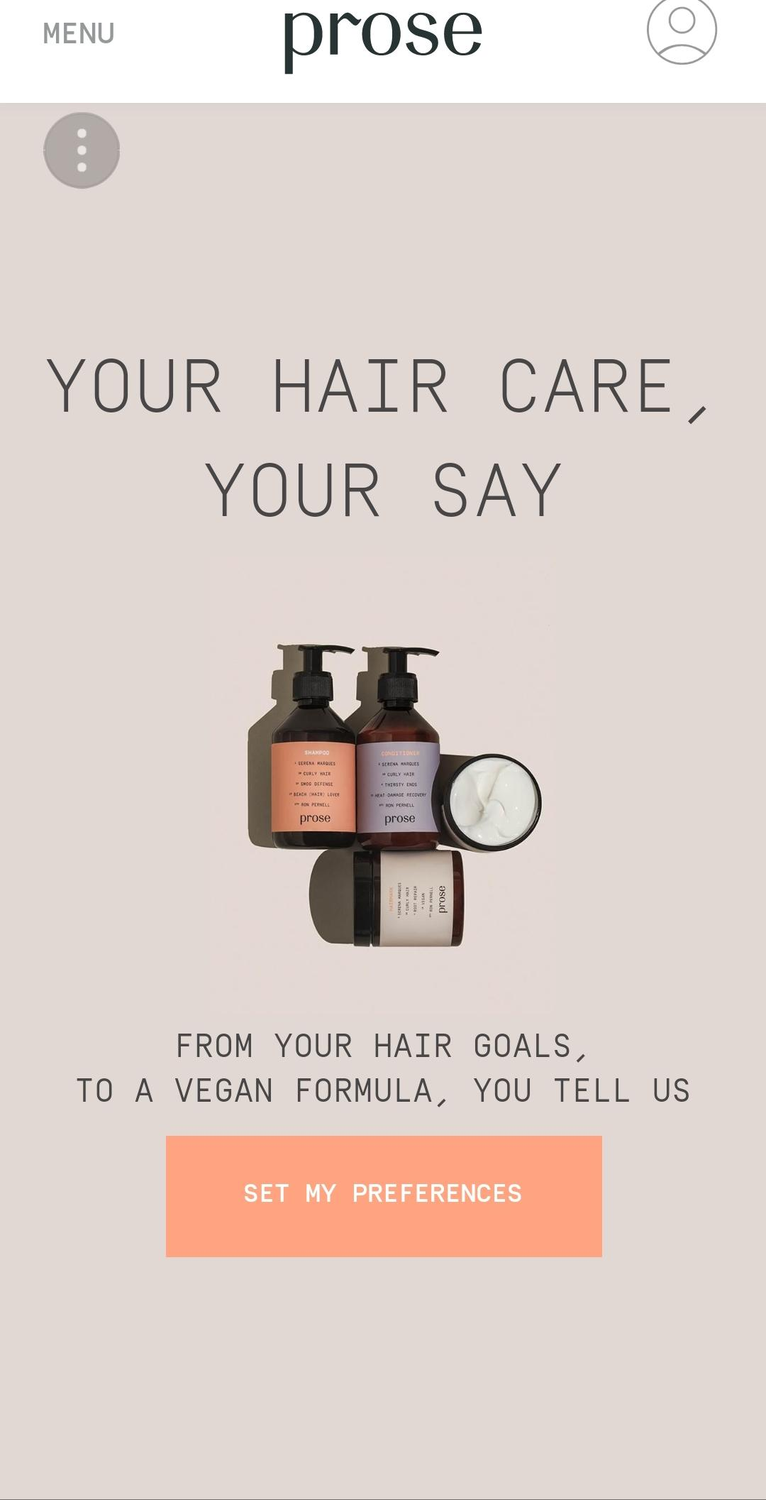 How To Be Your Own Hairgoals With Prose Customized Hair Care Malikah Kelly