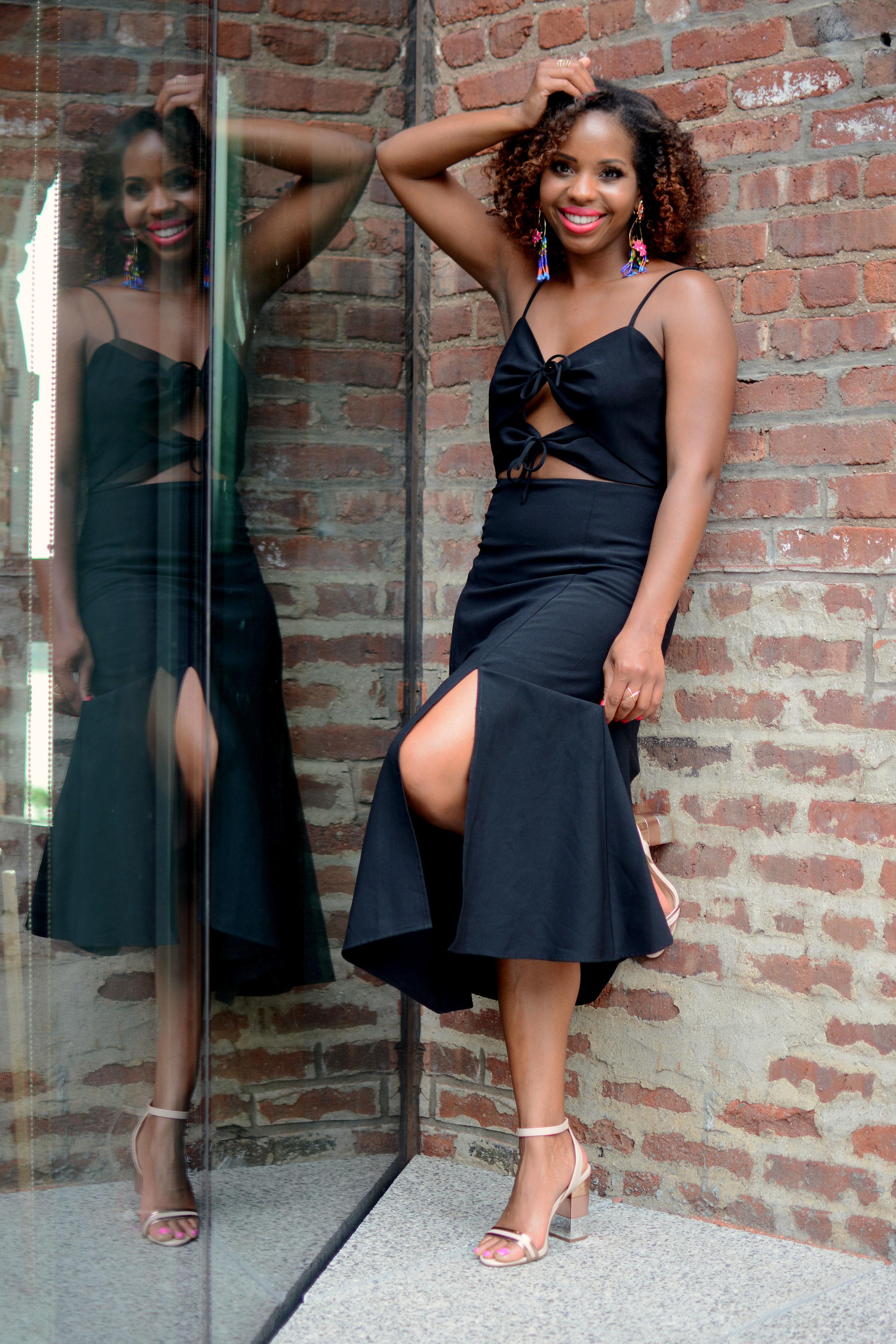 Summer Style Little Black Dress