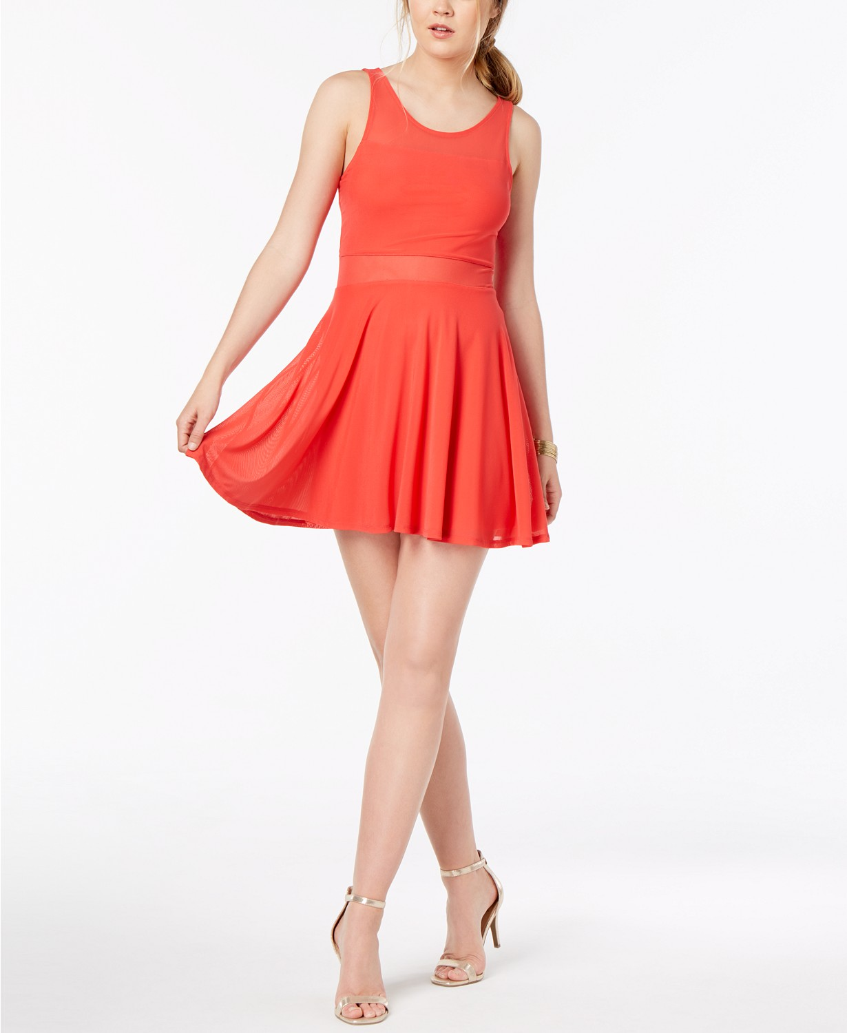Material Girl Fit and Flare Dress.jpg