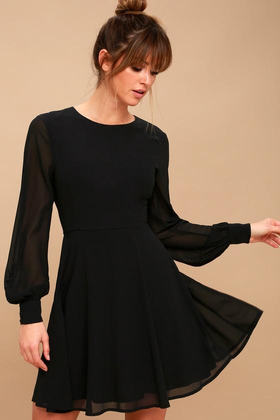 Lulus Black Long Sleeve Dress.jpg