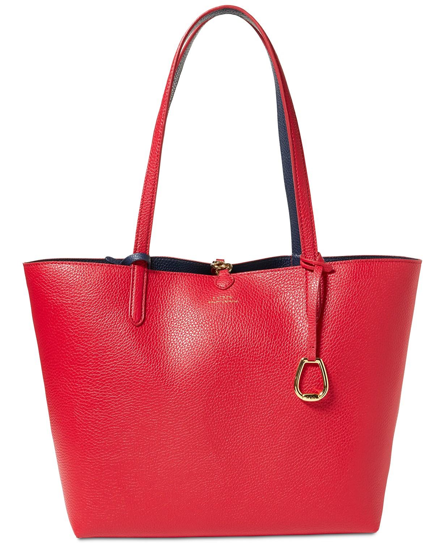 Lauren Ralph Lauren Red Tote Bag.jpg