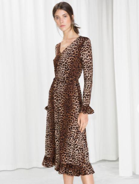 Leopard Print Wrap Dress.JPG
