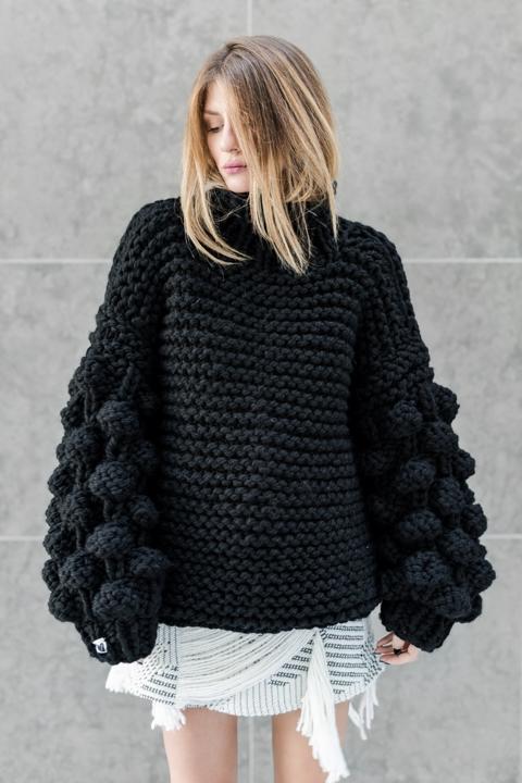 Mums Handmade Knit Sweater Dress.jpg