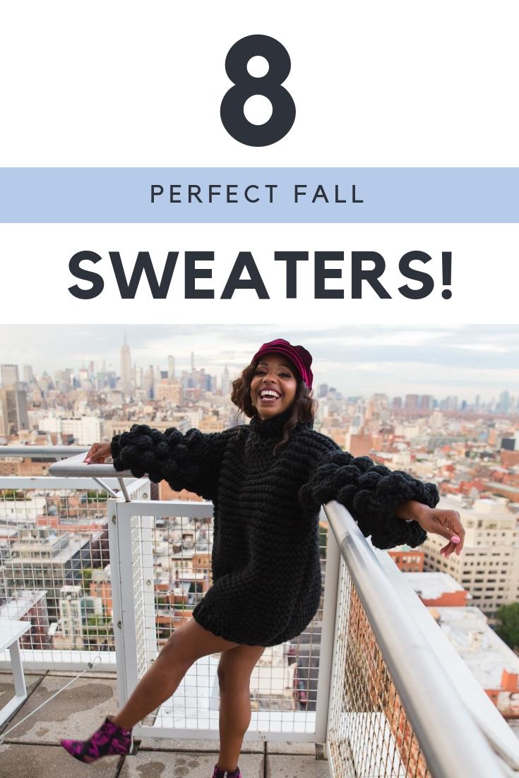 8 Perfect Fall Sweaters