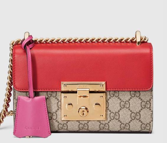 Gucci Supreme Padlock Bag