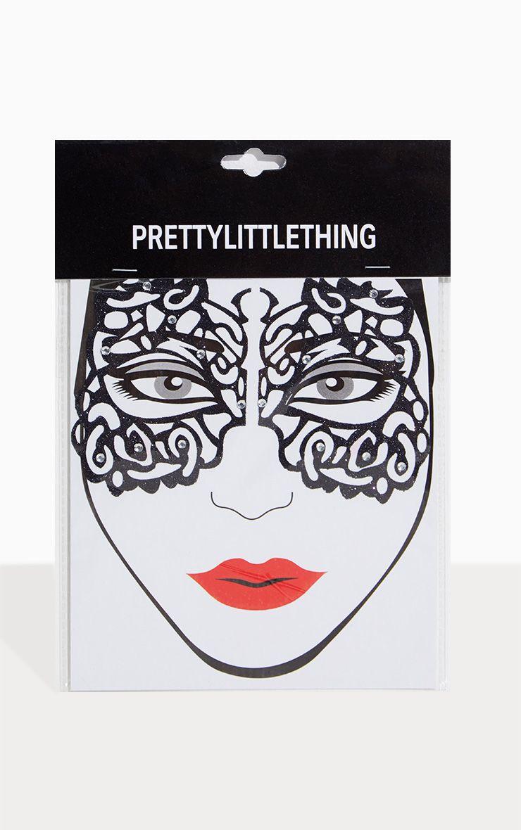 Black Masqurade Mask Face Stickers.jpg