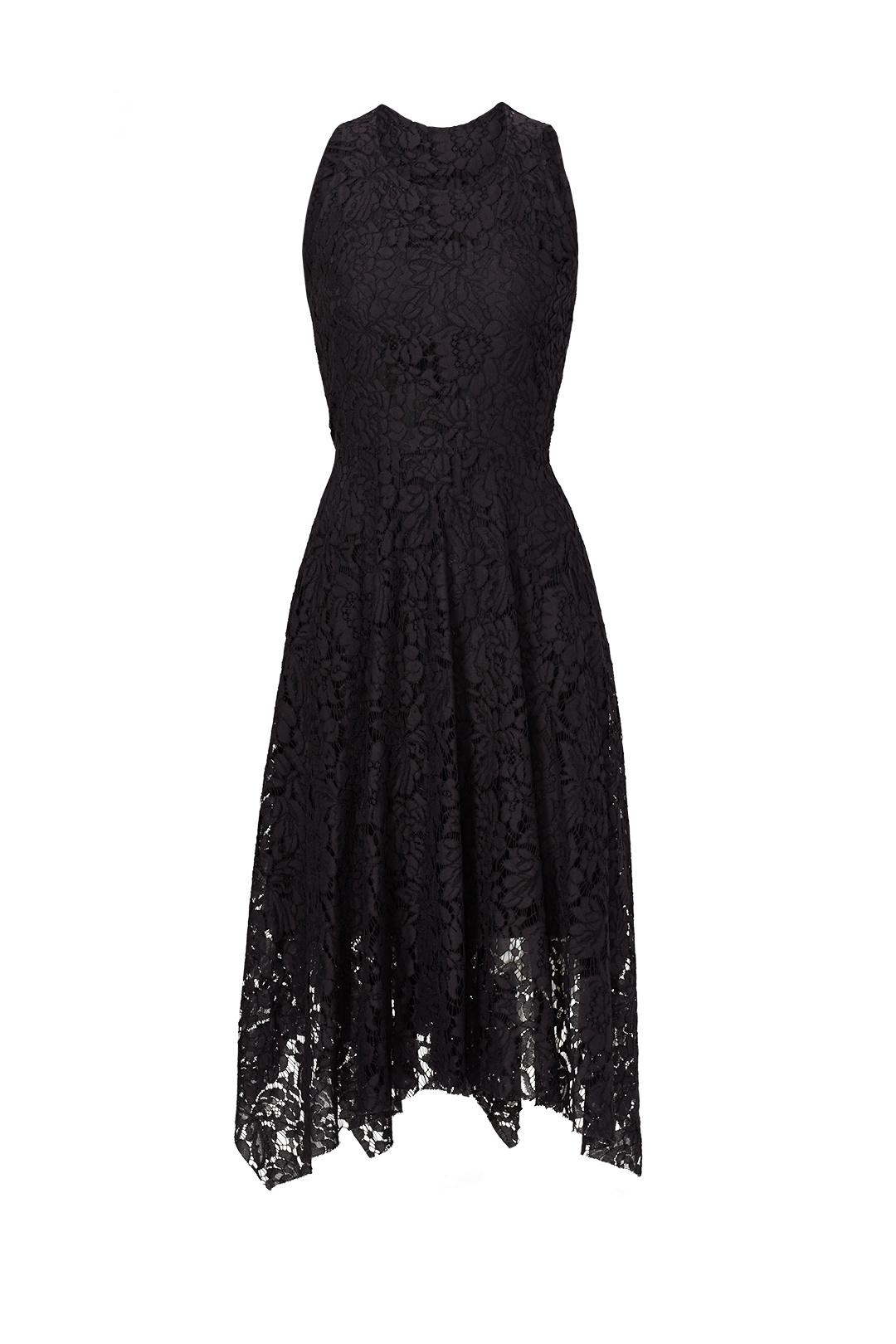 Black lace Handkerchief Hem Dress.jpg
