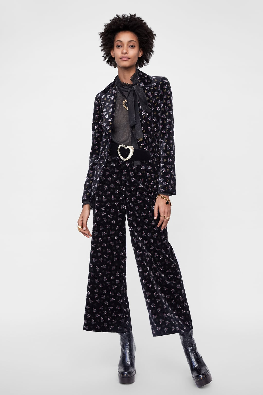 Zara Printed Velvet Jacket.jpg