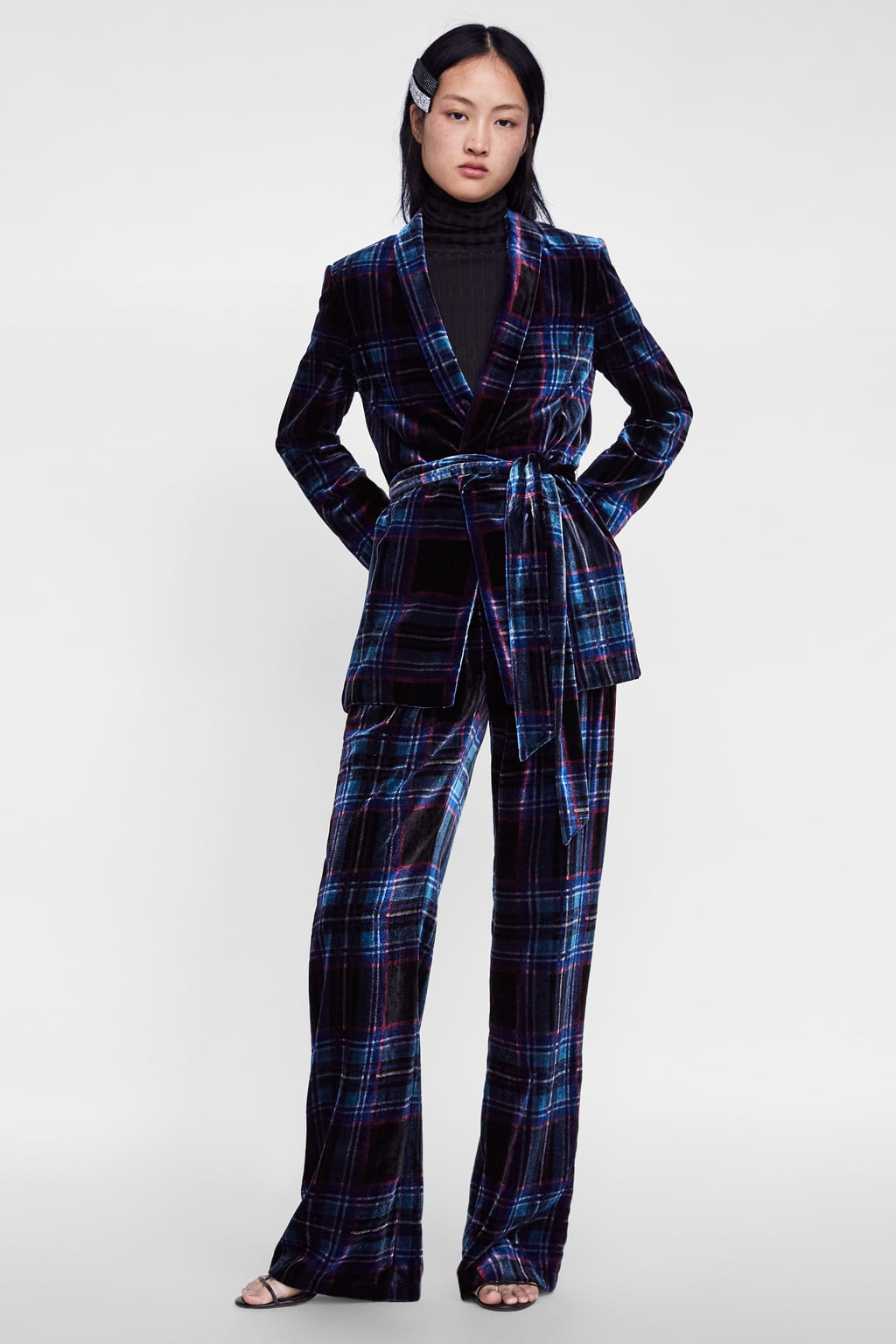 Zara Plaid Velvet Suit.jpg