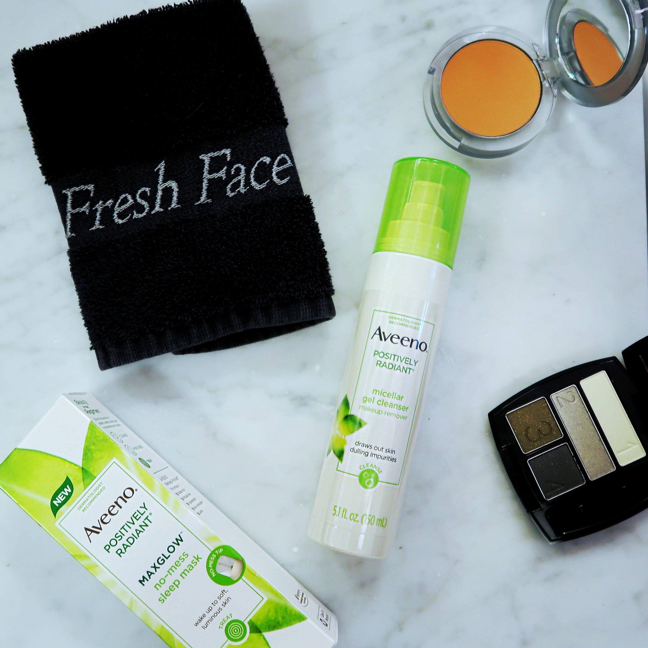 Aveeno Positively Radiant Beauty Products