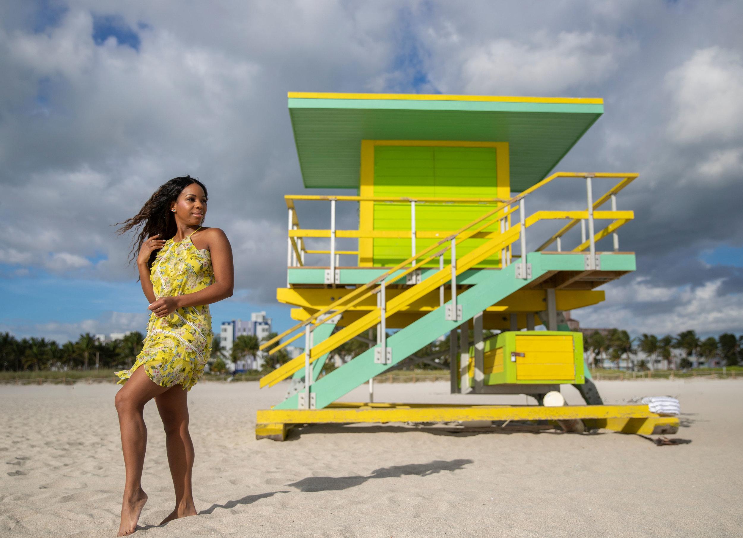 Summer in Mami South Beach