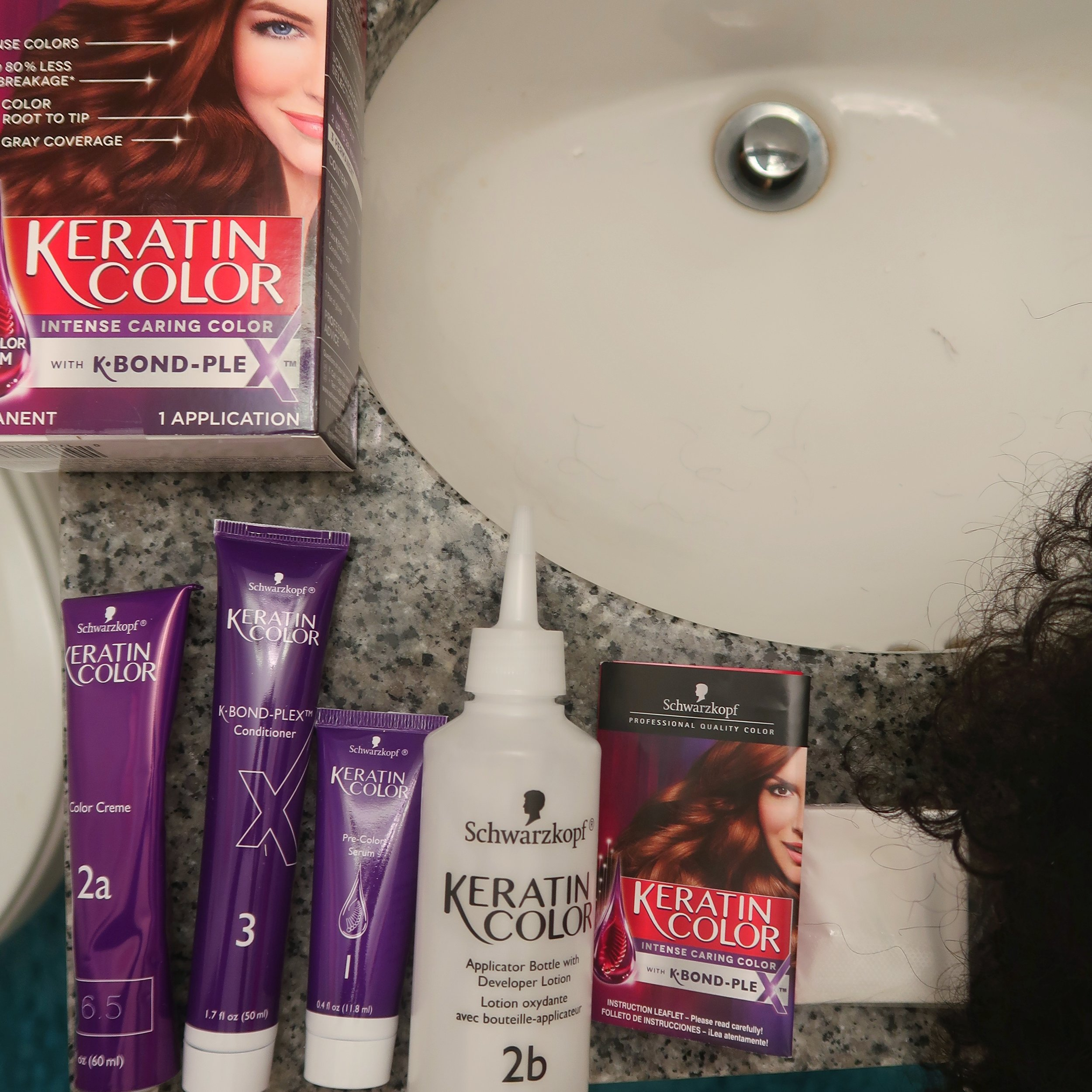 Keratin Hair Color at target.jpeg