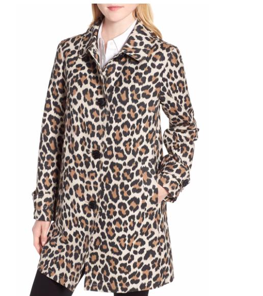 Kate Spade Leopard Coat