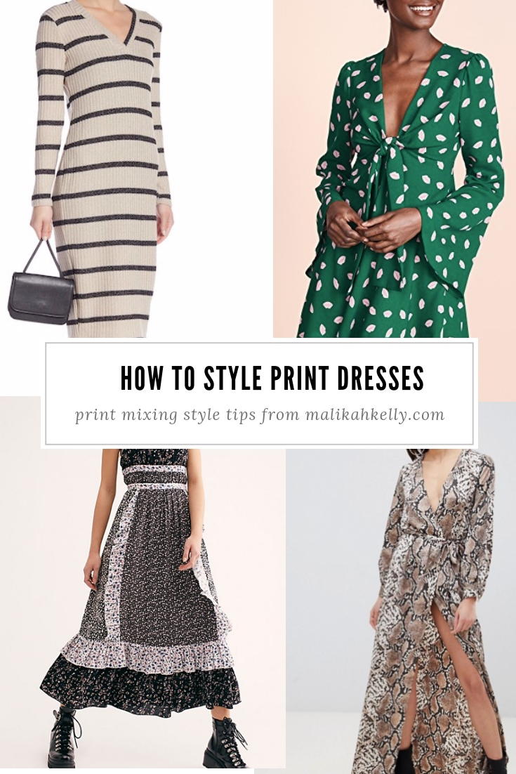 Print Dresses Style Tips