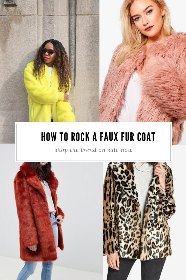 Faux Fur Coat Trend