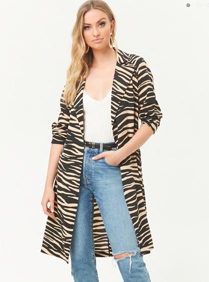 Tiger Print Jacket