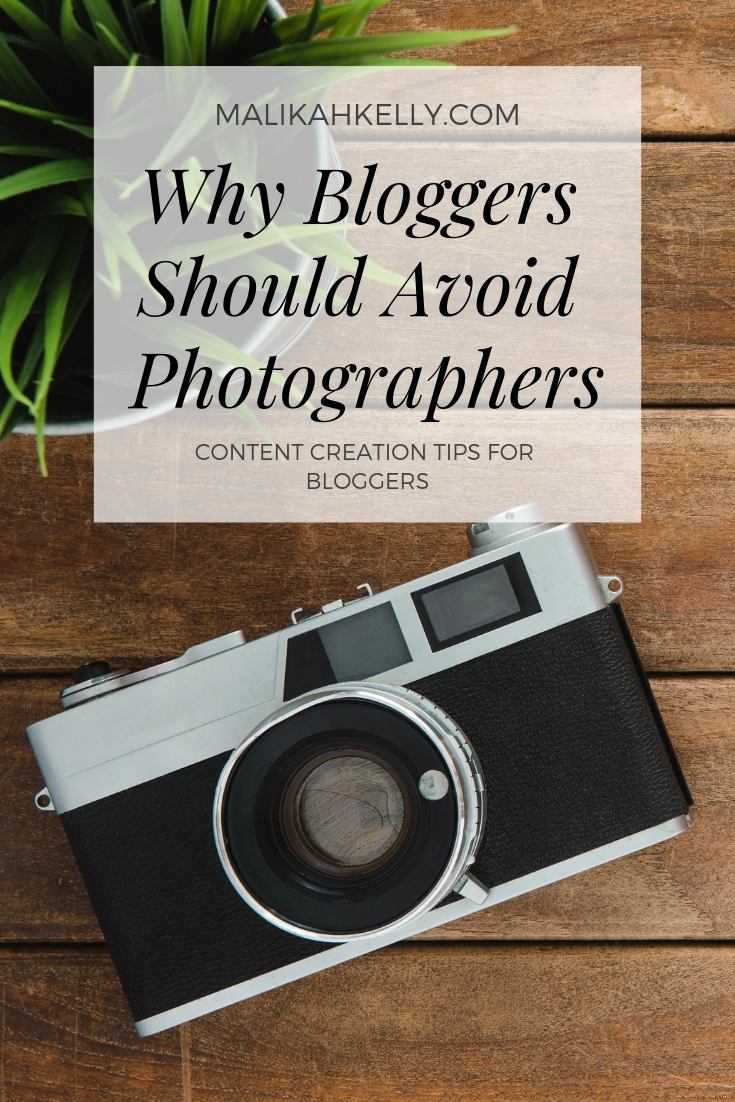 Working with Blogger Photographers