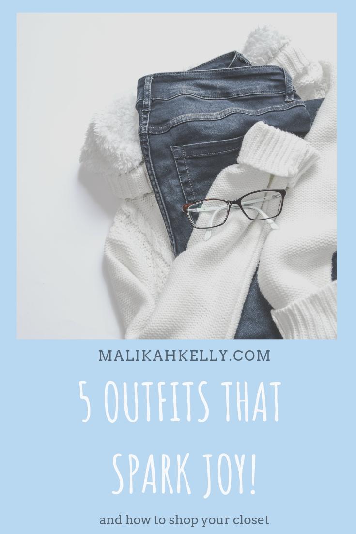 Shopping Your Closet to Spark Joy