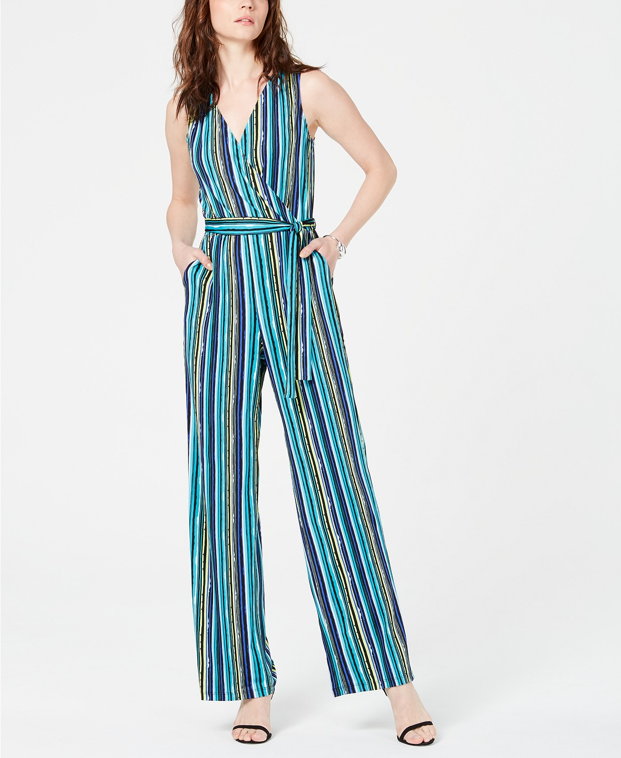 Ny Collection Striped Jumpsuit.jpg
