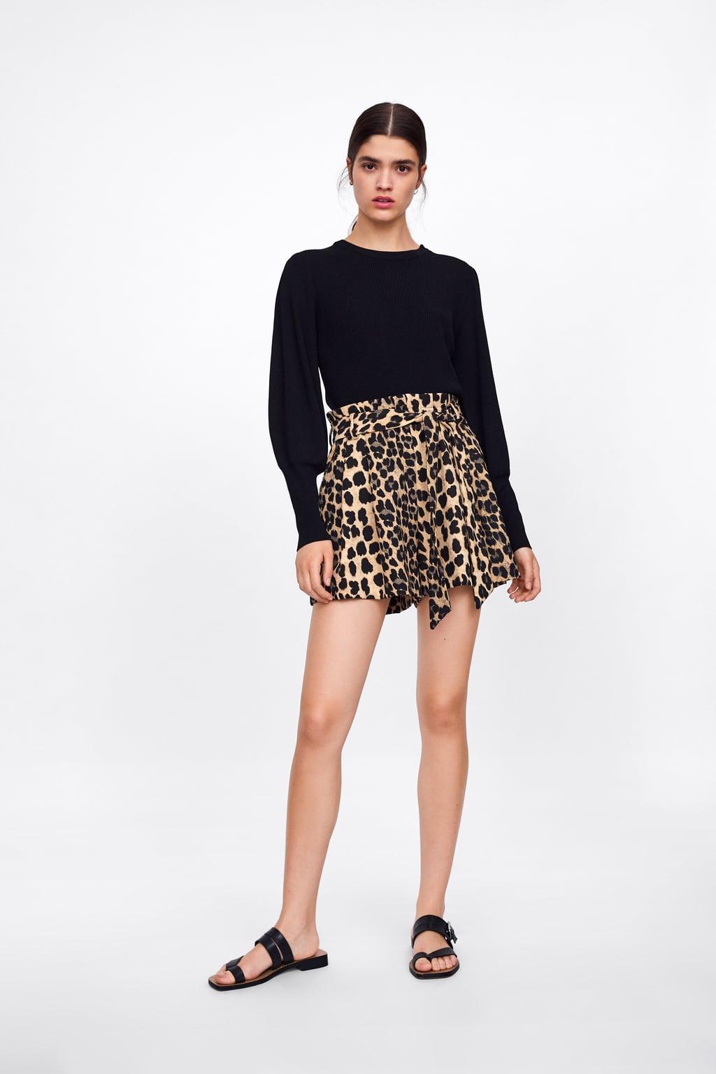 Zara Leopard Print Shorts.jpg