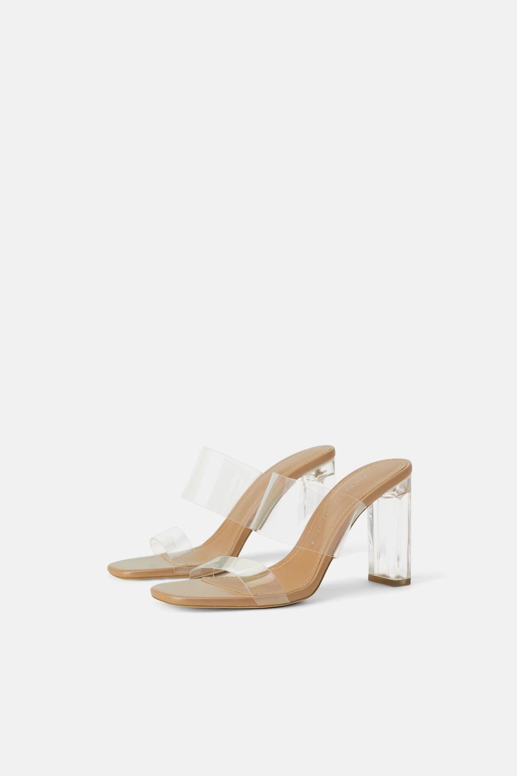 Zara Vinyl Block Heel Sandals.jpg