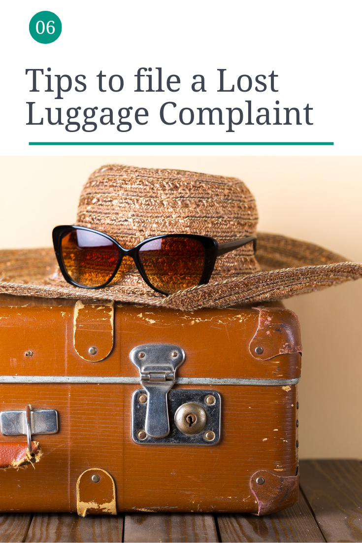 Tips for a Lost Luggage Complaint