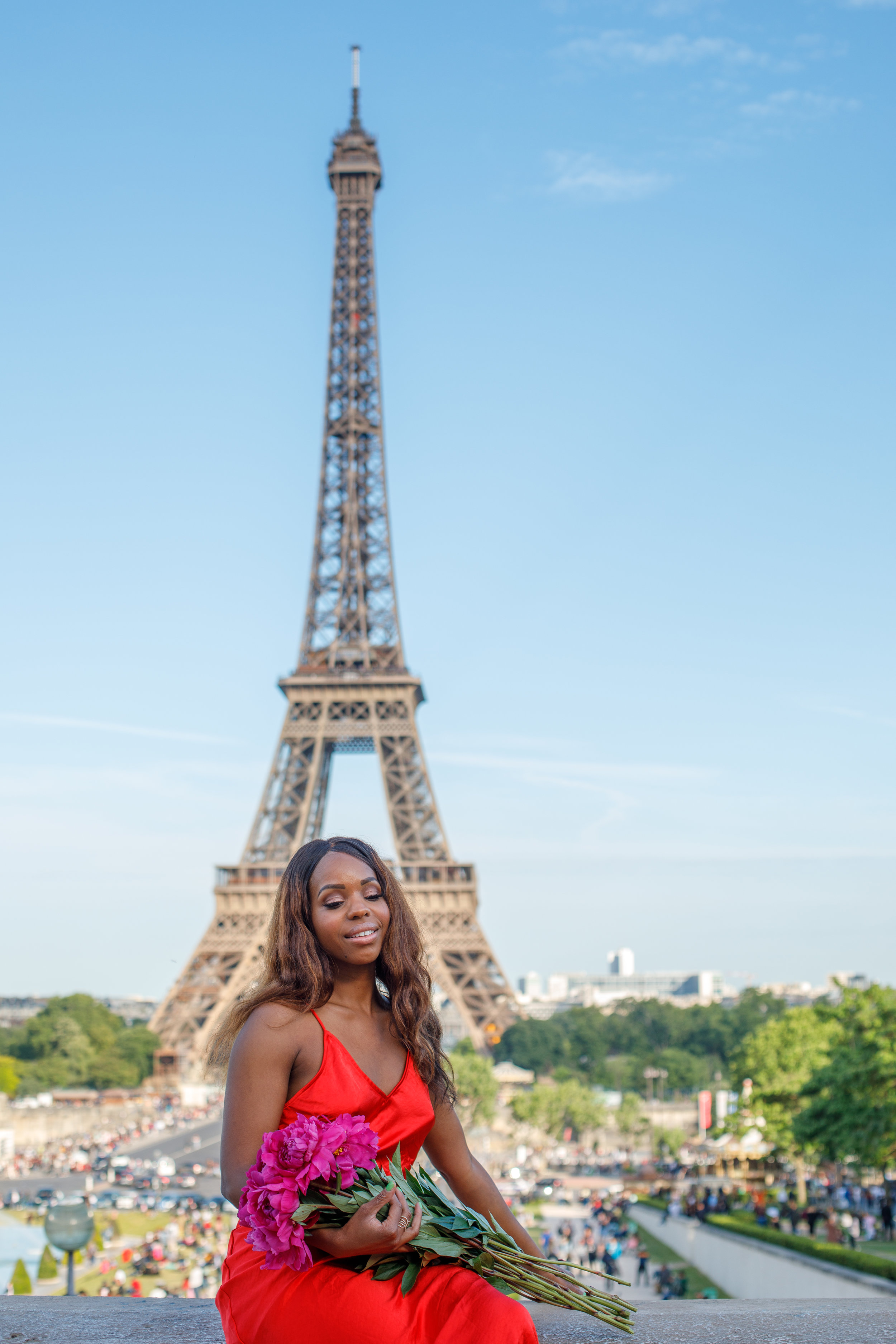 Fashion Photo Shoot Eiffel Tower
