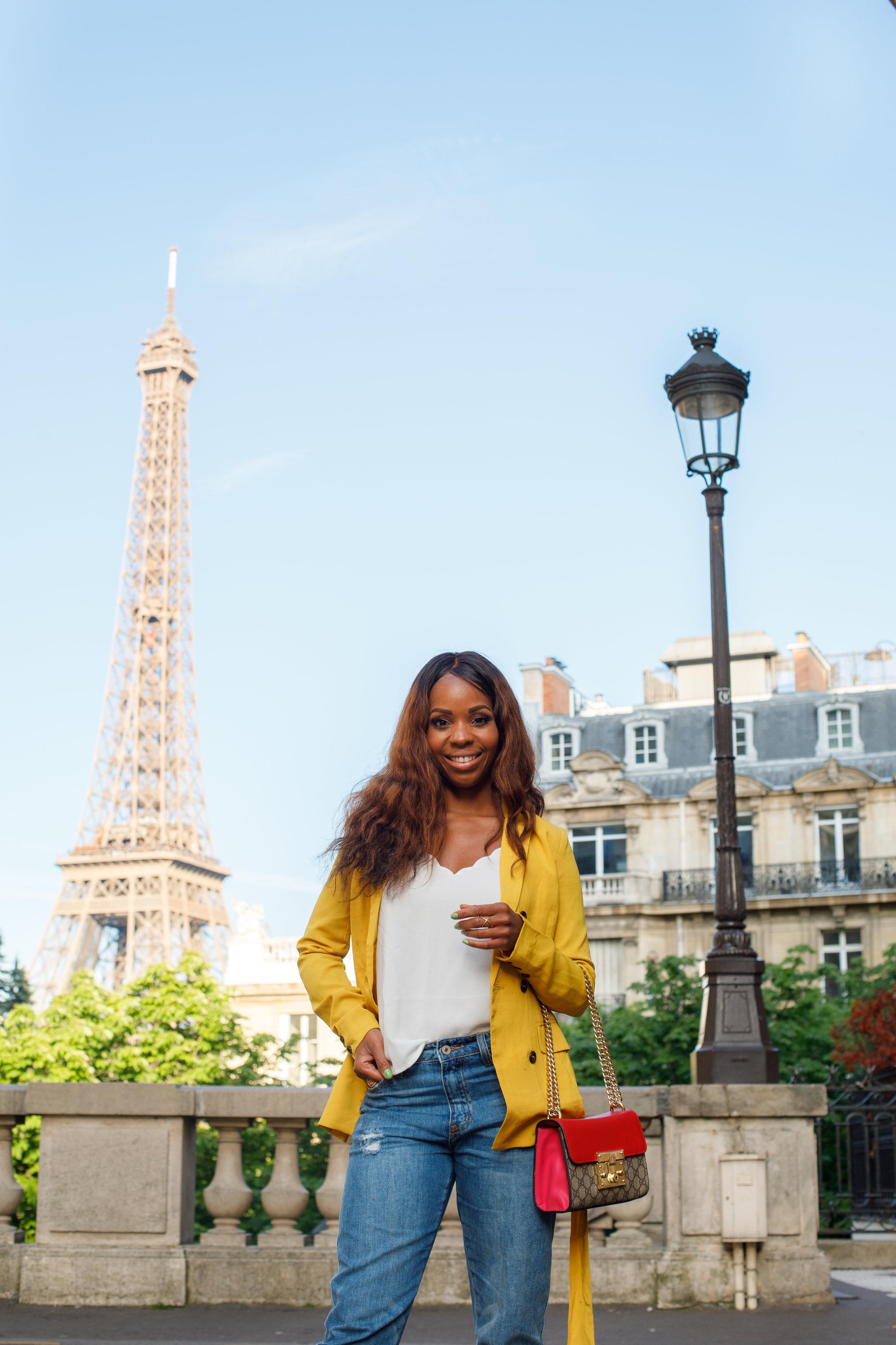 Summer Dressing in Paris