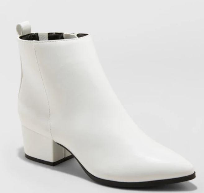white low heel booties.JPG