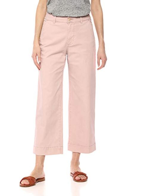 Amazon Brand - Daily Ritual Women's Washed Chino Wide Leg Pant
