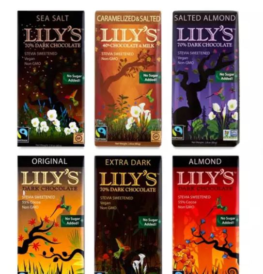 Lily's Stevia Naturally Sweetened Chocolate.JPG