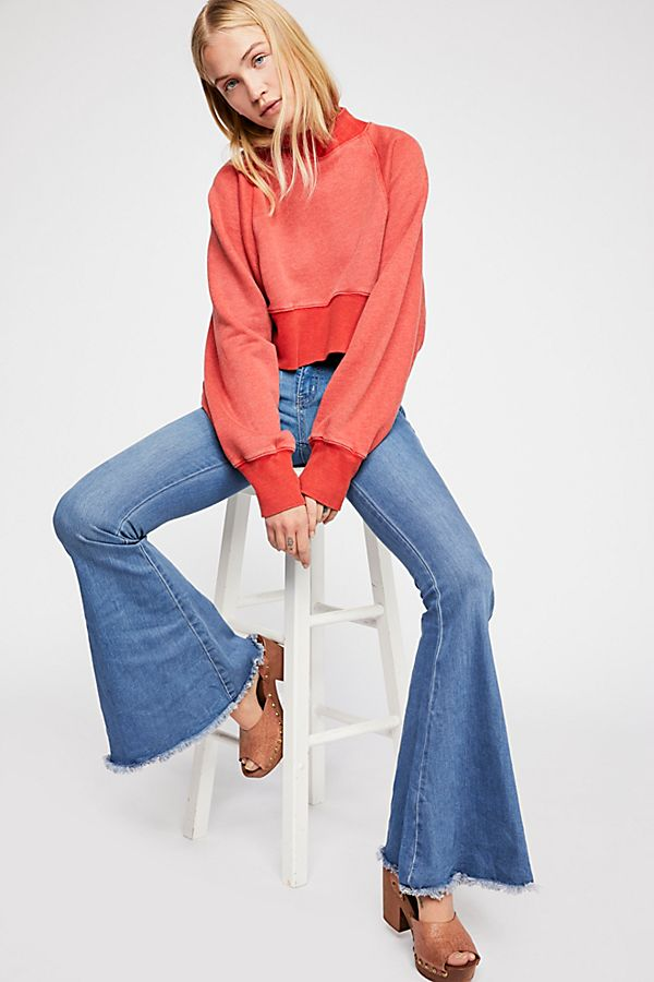 Free People Denim Super Flare Jeans.jpg