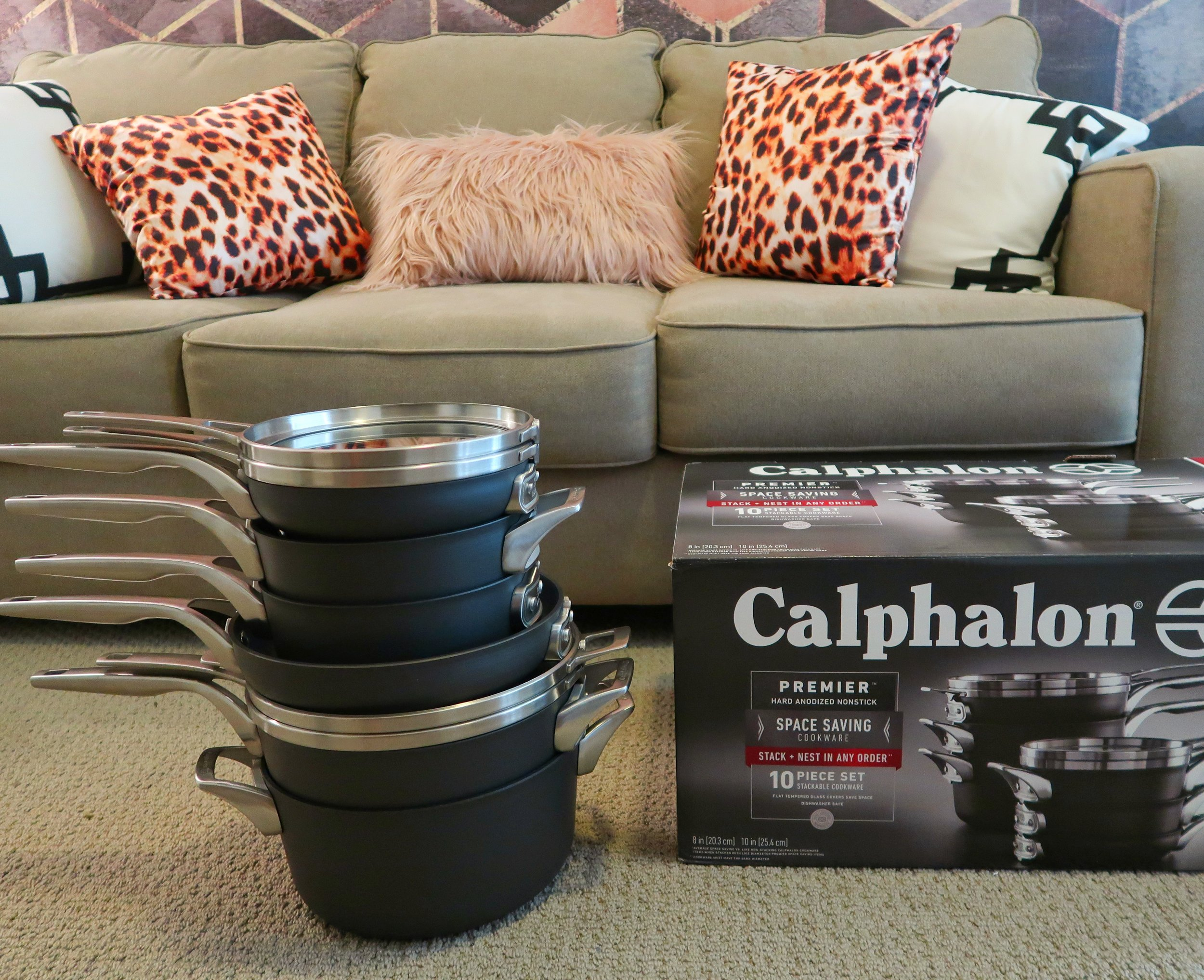 Space Saving Stackable Calphalon Pots